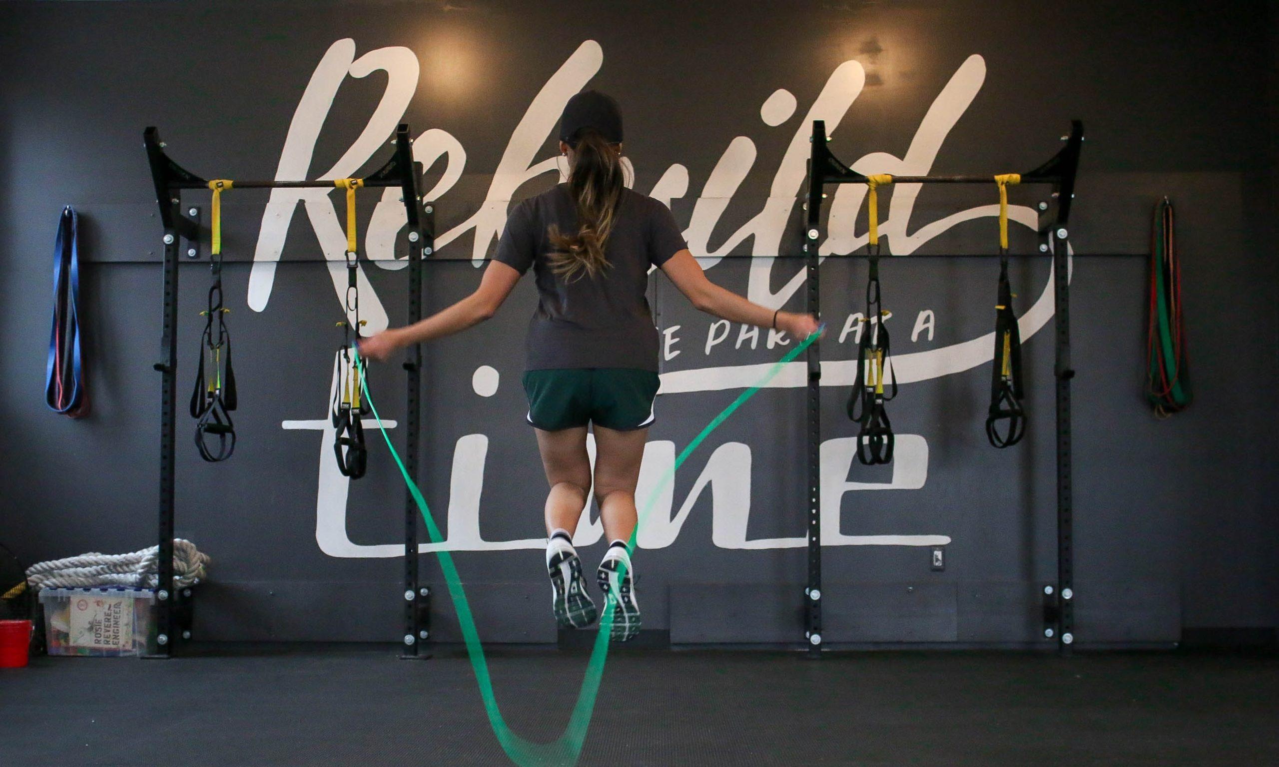 ダイエットのために縄跳びのトレーニング